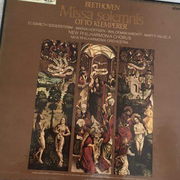 Beethoven – Otto Klemperer, Elisabeth Søderstrøm • Marga Höffgen • Waldemar Kmentt • Martti Talvela, New Philharmonia Chorus • New Philharmonia Orchestra – Missa Solemnis, 2x Vinyl LP Box Set,...