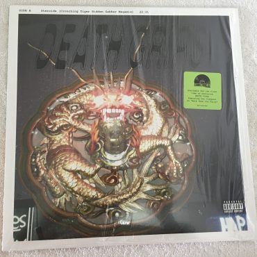 Death Grips ‎– Steroids (Crouching Tiger Hidden Gabber Megamix), White Vinyl LP, Limited Edition, Harvest ‎– 2577431302, 2019, USA