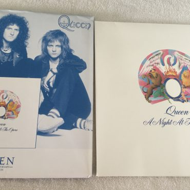 Queen ‎– A Night At The Opera, Vinyl LP, 1/2 Speed Mastered, 30th Anniversary Edition,  Parlophone ‎– 338 478-1, 2005, Europe
