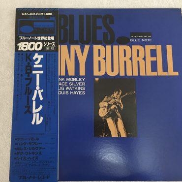 Kenny Burrell – K.B.Blues, Japan Press Vinyl LP, Blue Note – GXF 3052(M), 1979, with OBI