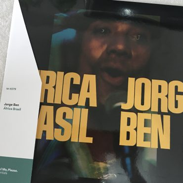 Jorge Ben ‎– Africa Brasil, Yellow 180 gram Vinyl LP, Limited Edition, Universal Music Special Markets ‎– 6349.187, 2019, USA