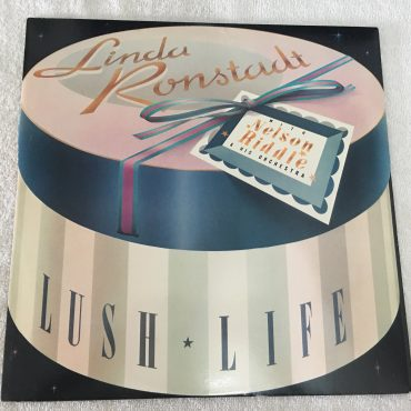 Linda Ronstadt With Nelson Riddle & His Orchestra ‎– Lush Life, Vinyl LP, Promo Copy, Asylum Records ‎– 60387-1, 1984, USA