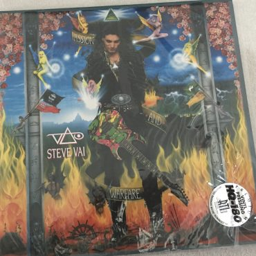 Steve Vai – Passion And Warfare – 25th Anniversary Limited Edition, 2x Clear Vinyl LP, Friday Music – FRM-68030, 2016, USA
