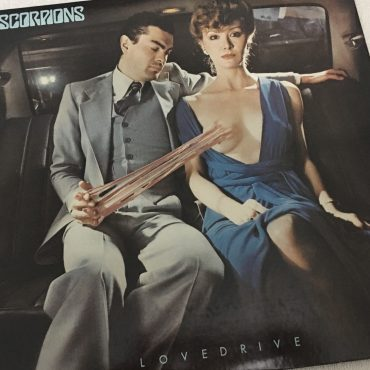 Scorpions ‎– Lovedrive, Japan Press Vinyl LP, RCA ‎– RVP-6351, 1979, no OBI