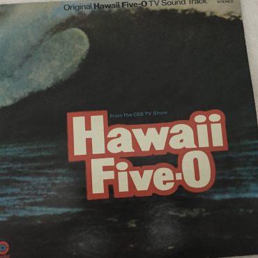 Mort Stevens And His Orchestra – Hawaii Five-O, Japan Press Vinyl LP, Capitol Records – CP8941, no OBI