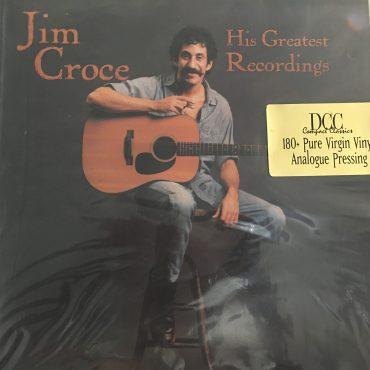 Jim Croce – His Greatest Recordings, Vinyl LP, Limited Edition No. 1229, 180 gram, DCC Compact Classics – LPZ-2054, 1998, USA