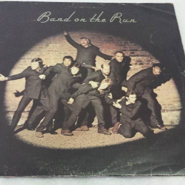 Paul McCartney And Wings, Band On The Run, Vinyl LP, Apple Records – PAS  10007, 1973, UK*